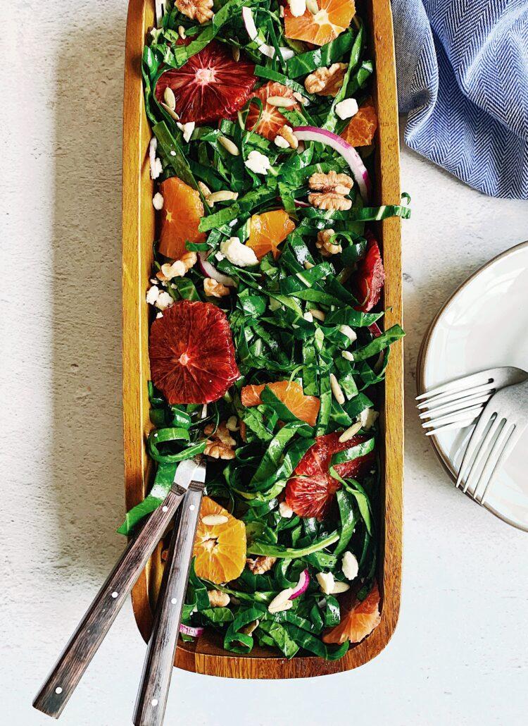 Collard Greens & Citrus Salad
